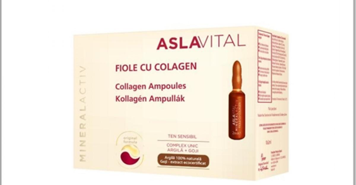 Fermitate si tonifiere cu noile Fiole cu Colagen de la ASLAVITAL Mineralactiv!