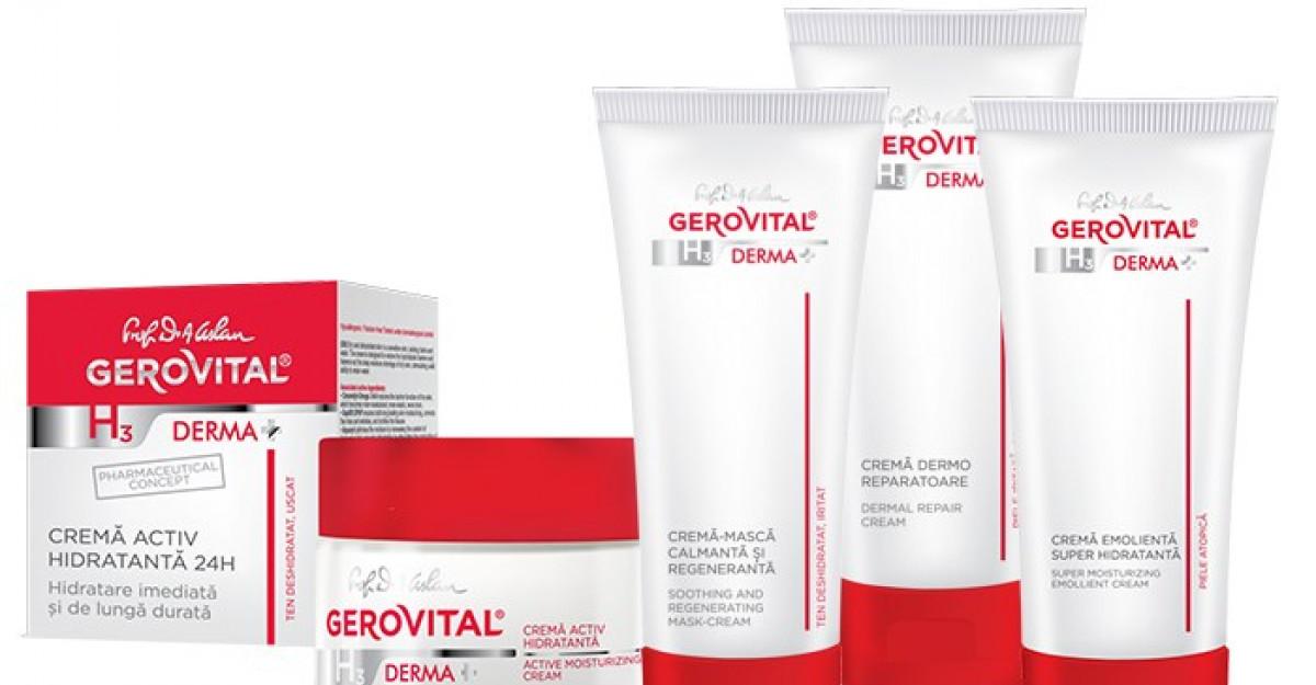 Dermatocosmetice romanesti la preturi bune