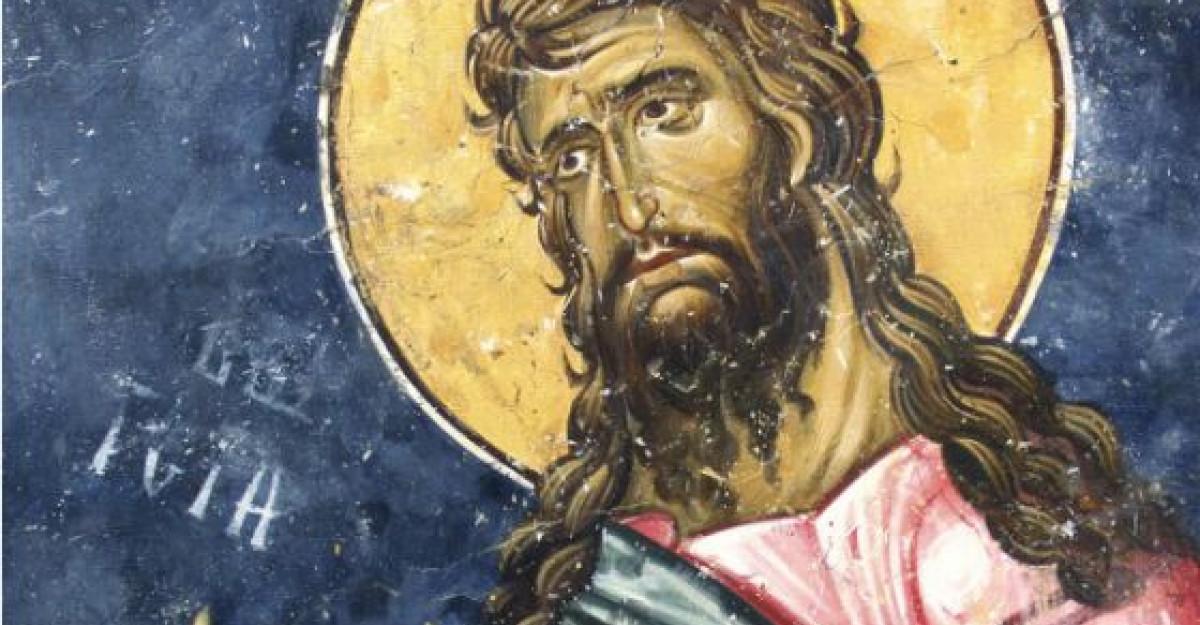 Taierea Capului Sf. Ioan Botezatorul: Traditii si obiceiuri romanesti