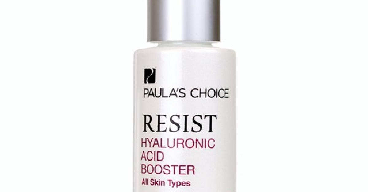 Noul Resist Hyaluronic Acid Booster de la Paula's Choice