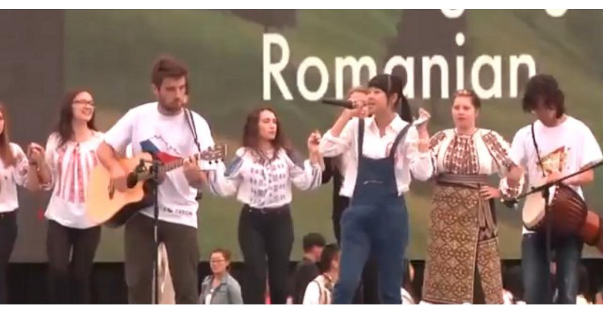 Video: Piesa Canta cucu-n Bucovina a devenit virala pe internet dupa ce a fost cantata de o chinezoaica