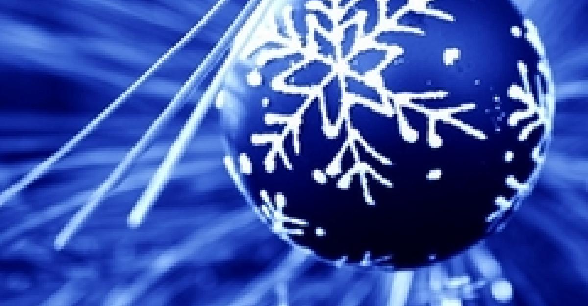 Trimite o felicitare virtuala de Anul Nou!