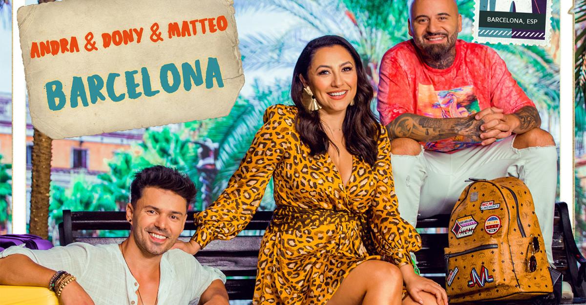 Andra, Dony şi Matteo ne invită într-o călătorie muzicală