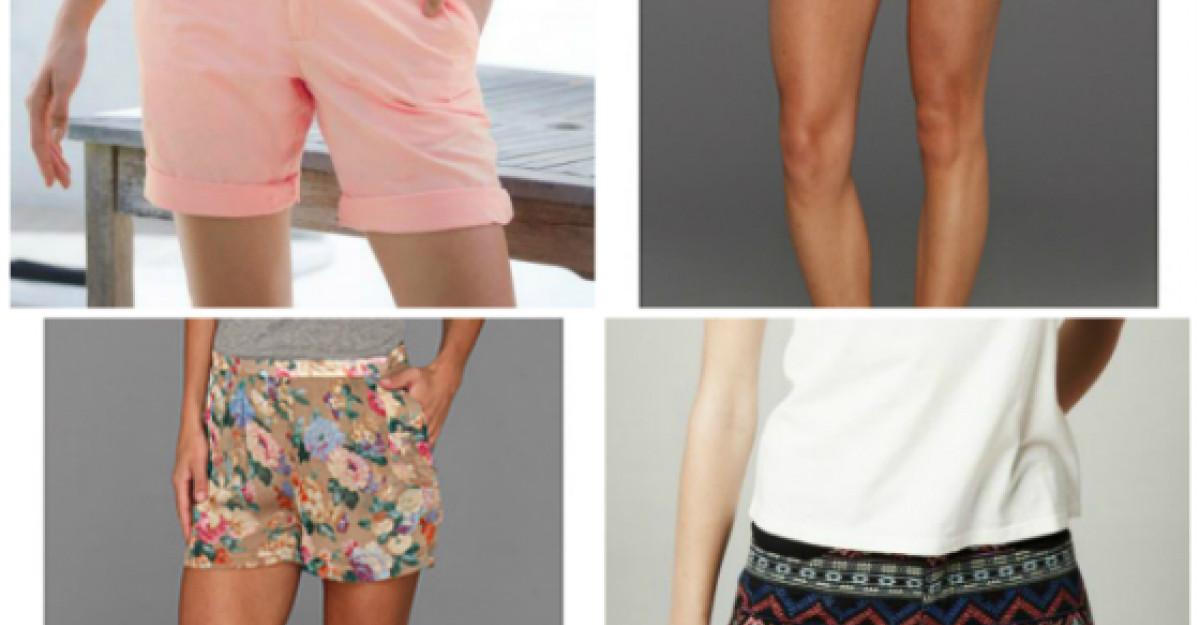 Pantaloni scurti pentru vara
