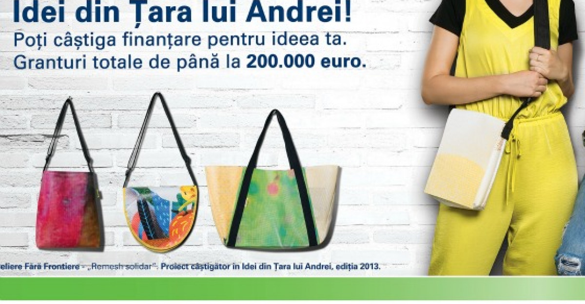Finantari in valoare de 200.000 de euro oferite de OMV Petrom in competitia Idei din Tara lui Andrei