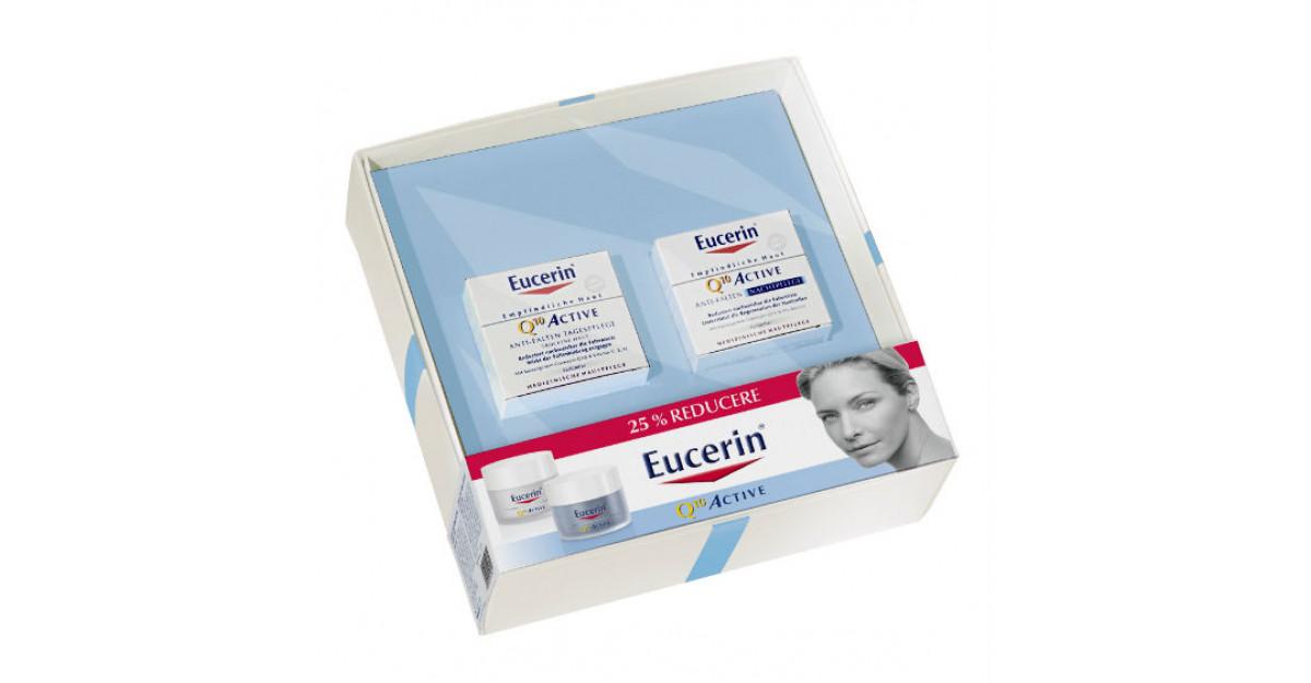 Solutii complete de ingrijire marca Eucerin, impachetate de sarbatoare