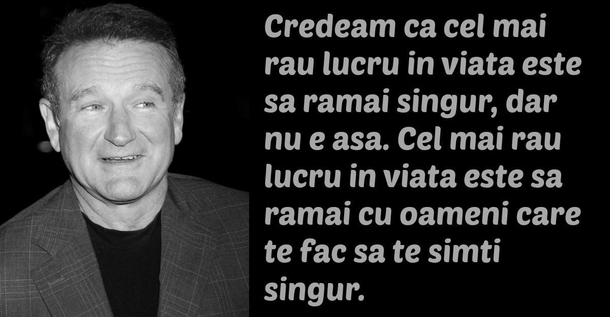 Cele mai frumoase citate ale lui Robin Williams