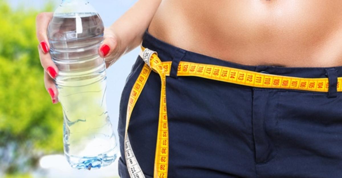 Dieta cu apa: simplu si eficient!
