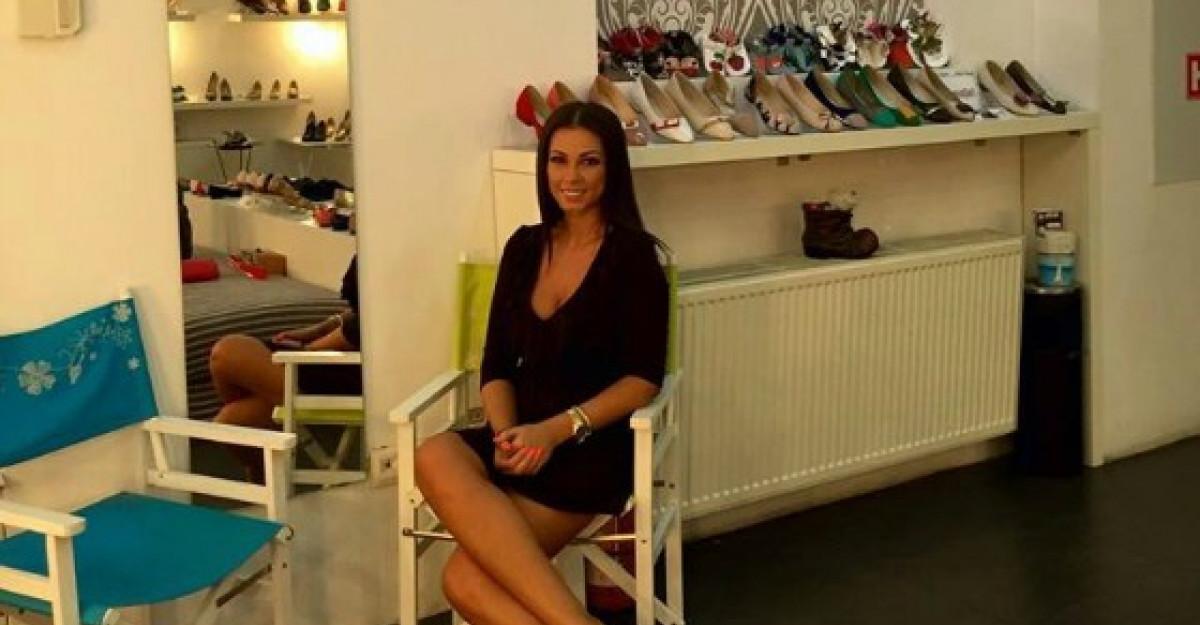 Iuliana Luciu prefera balerinii confortabili pentru plimbarile de weekend