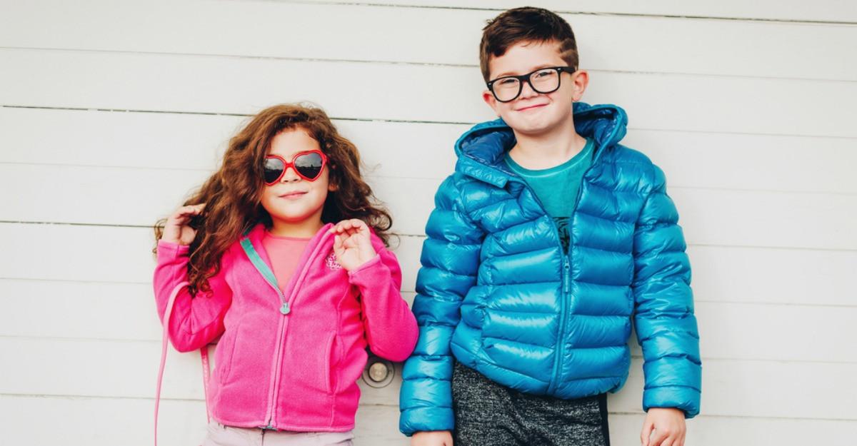 Geci pentru copii - călduroase, pufoase și moderne
