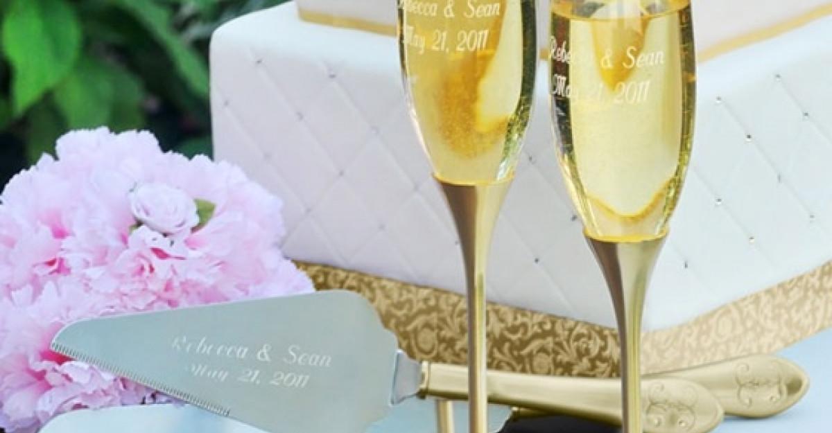 15 Modele de pahare elegante pentru miri