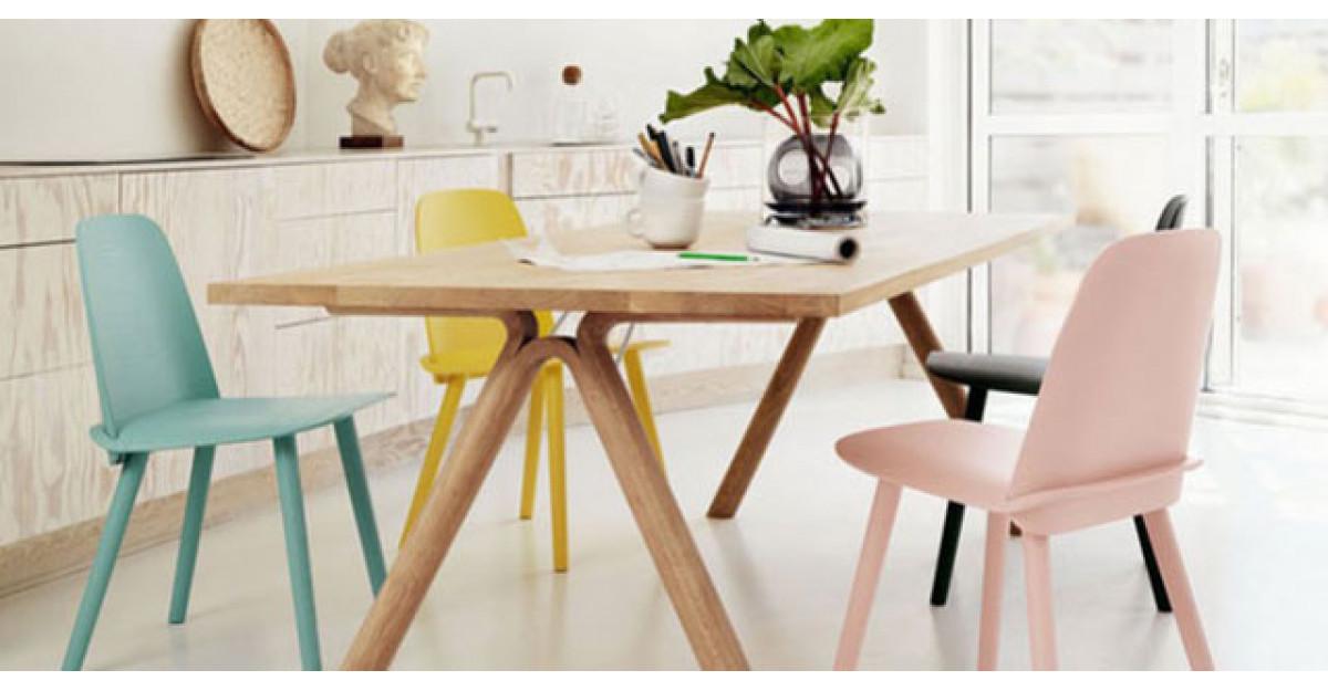 18 scaune de inspiratie scandinava