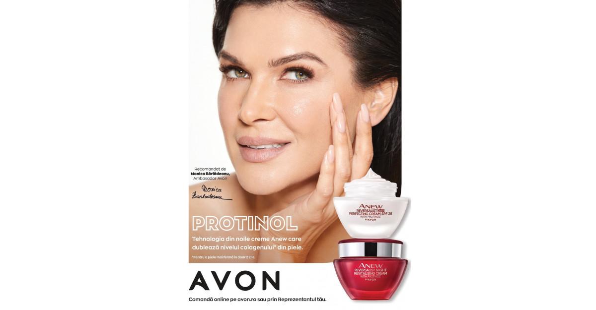 AVON revoluționează îngrijirea pielii și introduce tehnologia Protinol© în cremele anti-rid ANEW