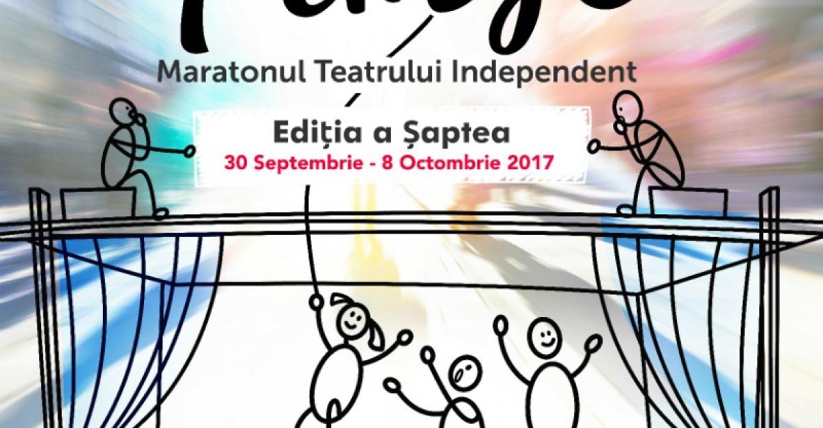 Editia a saptea a festivalului Maratonul Teatrului Independent: 30 septembrie – 8 octombrie, la Bucuresti