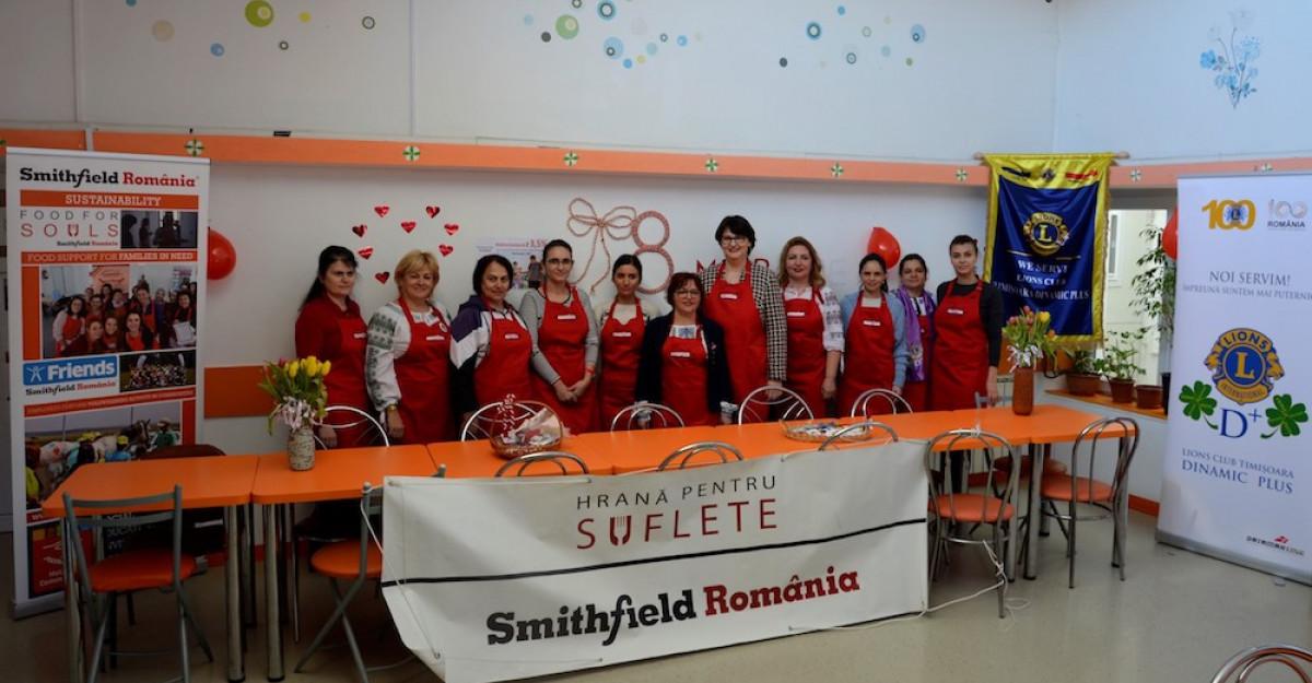 Smithfield România a oferit familiilor nevoiașe aproximativ 400.000 de mese calde