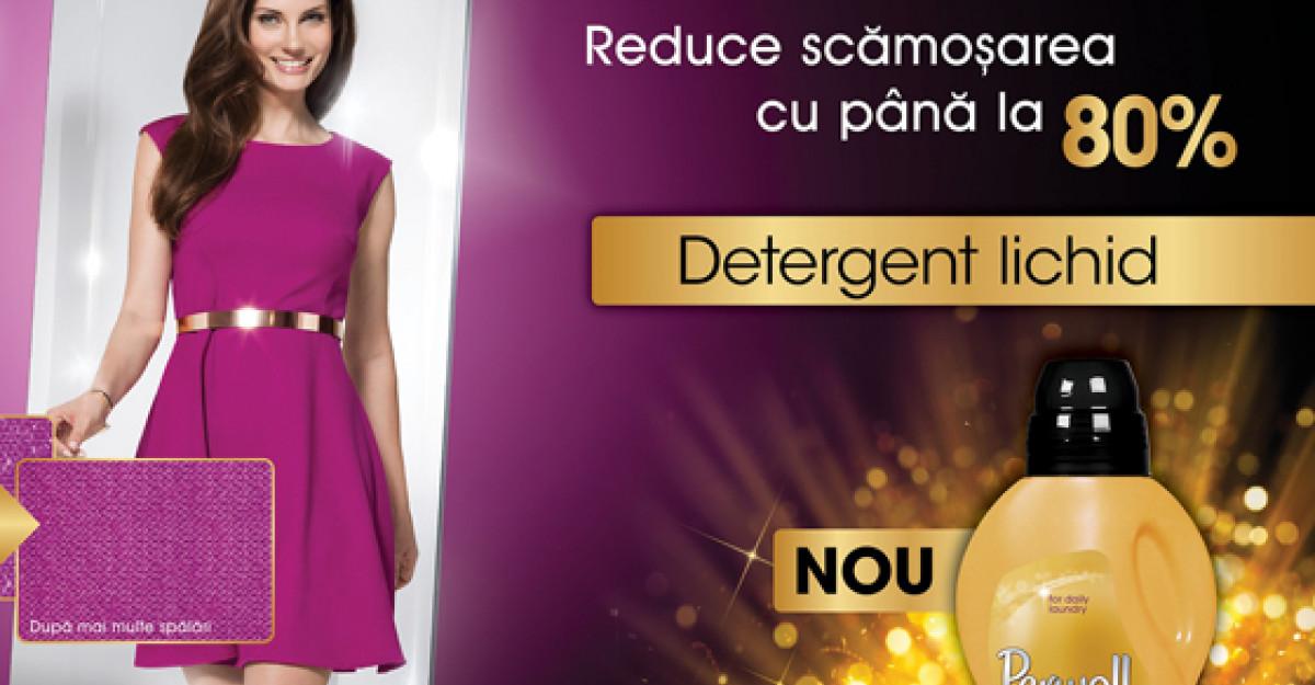 Perwoll lanseaza primul detergent lichid din Romania care elimina scamosarea hainelor