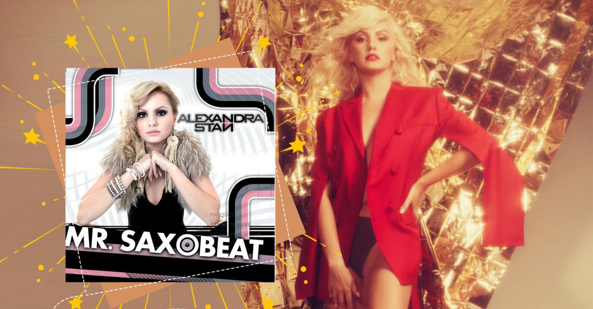 Alexandra Stan scrie istorie cu mega-hitul Mr. Saxobeat: cea mai ascultată piesa românească de pe Spotify