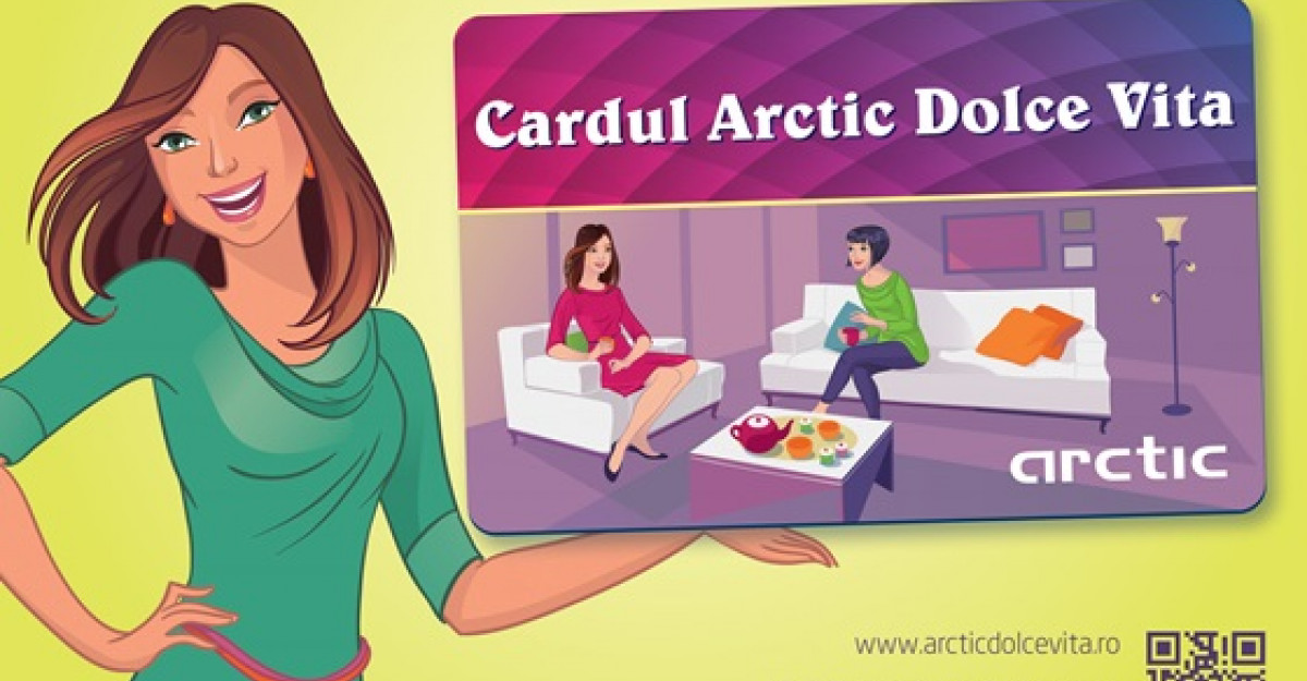 Cardul Arctic Dolce Vita