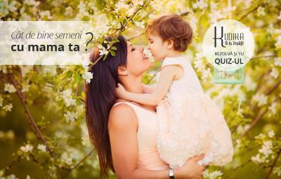 Cat de bine semeni cu mama ta?