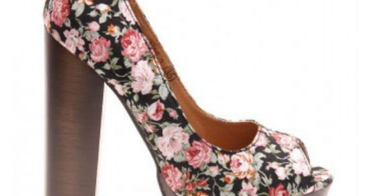 20 de modele de pantofi colorati