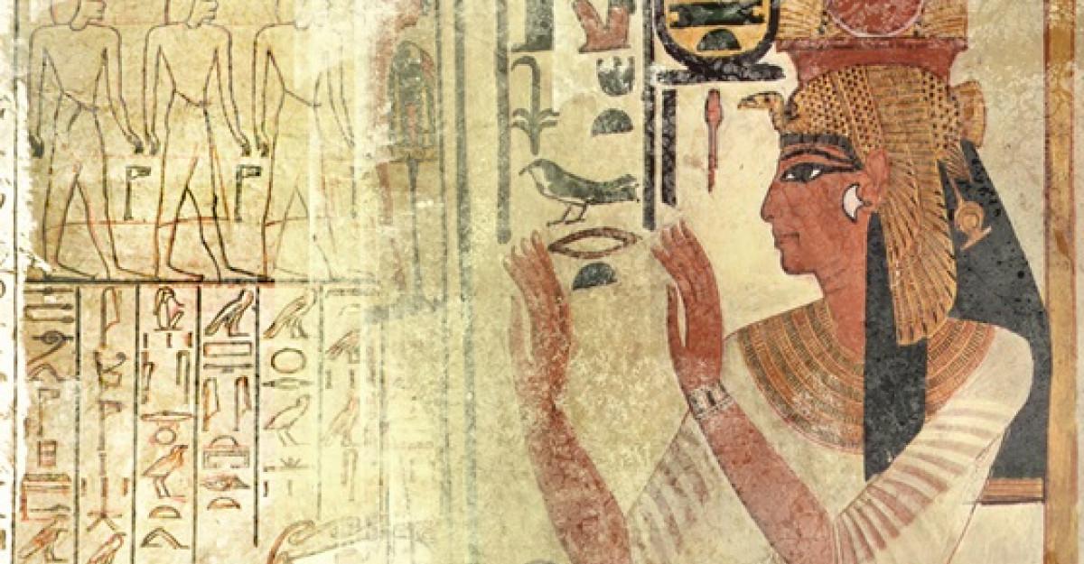Astrologie: Horoscopul Egiptului Antic