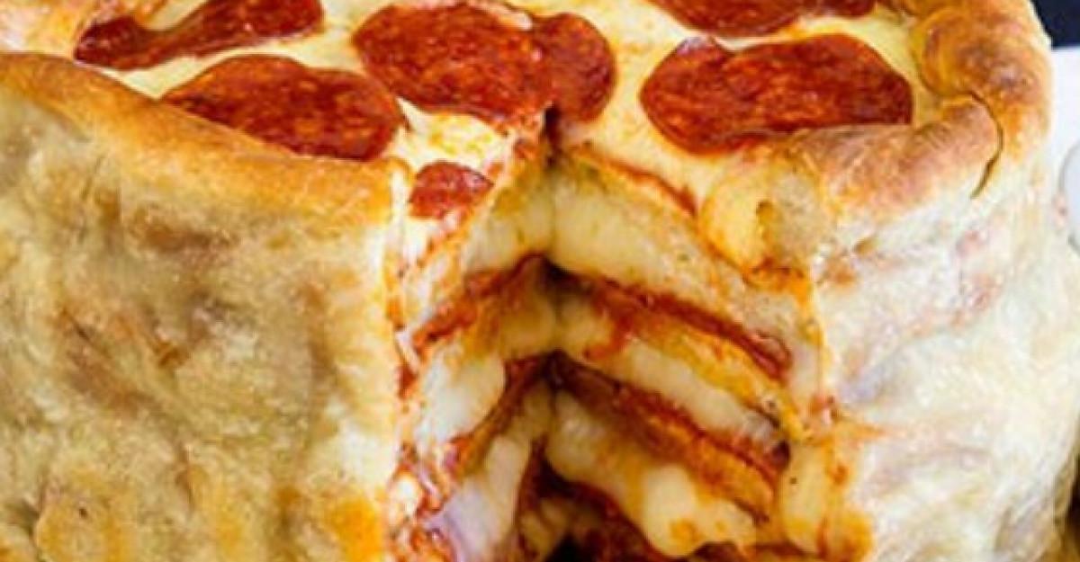 Pizza la oala: probabil cea mai buna reteta din lume