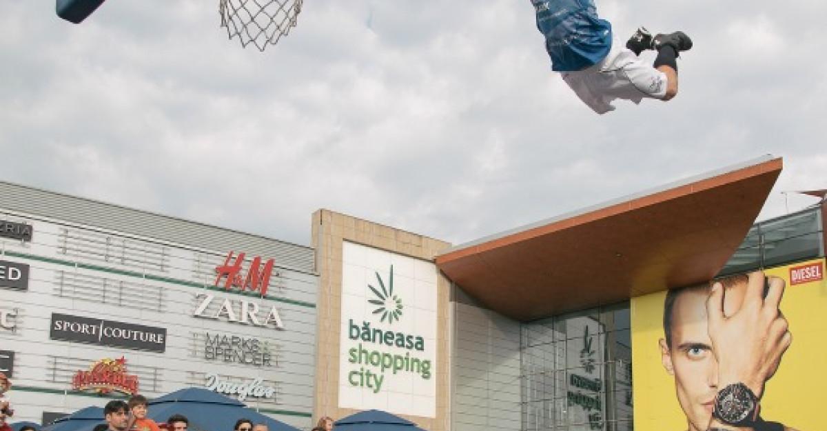 Baschet si distractie asigurata de Baneasa Streetball