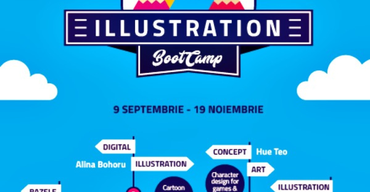 S-a lansat Illustration Boot Camp, un program complet de pregatire pentru o cariera in ilustratie