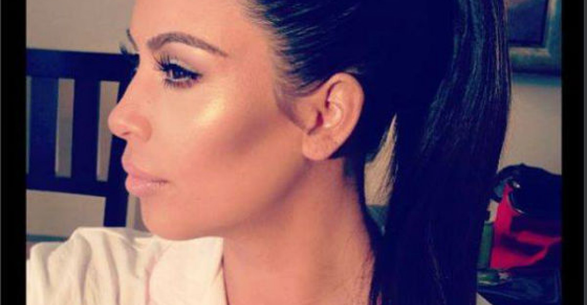 Foto: Uite ce talie de viespe are Kim Kardashian