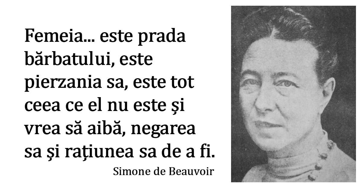 Alfabetul dragostei. Cele mai frumoase citate despre iubire dupa Simone de Beauvoir