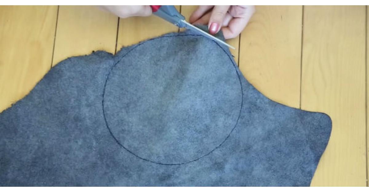 Video: Traseaza un cerc pe material, apoi incepe sa taie. Motivul? Cel mai tare accesoriu de vara
