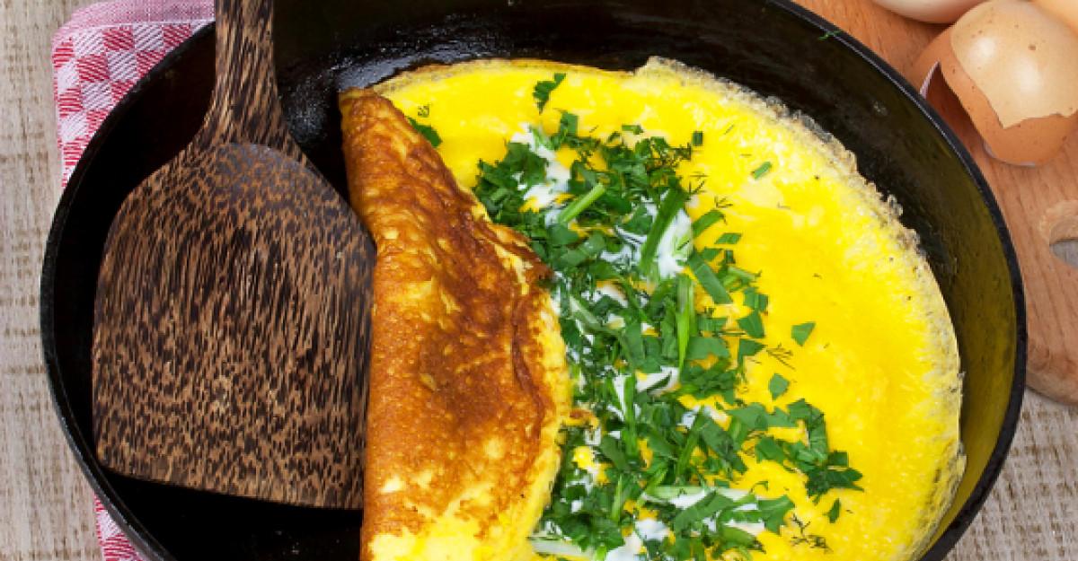 Omlete. 24 de retete delicioase si usor de preparat