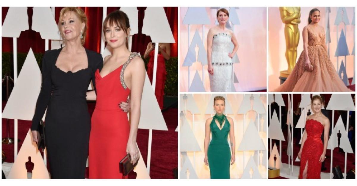 Oscar 2015: Cele mai frumoase rochii de pe covorul rosu