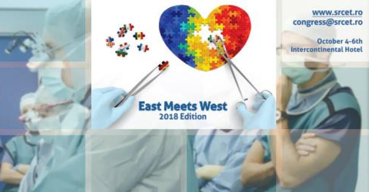 Congresul East Meets West 2018 - tratarea bolilor cardiovasculare
