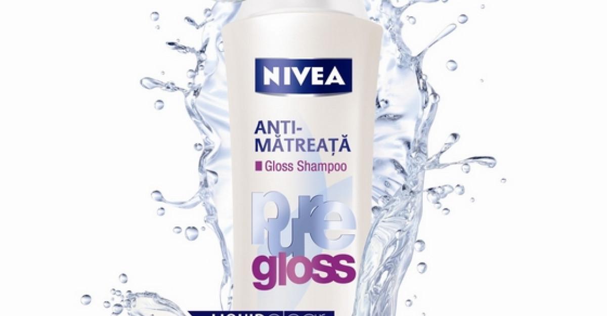 Ofera-i parului tau stralucire cu gama NIVEA Diamond Gloss