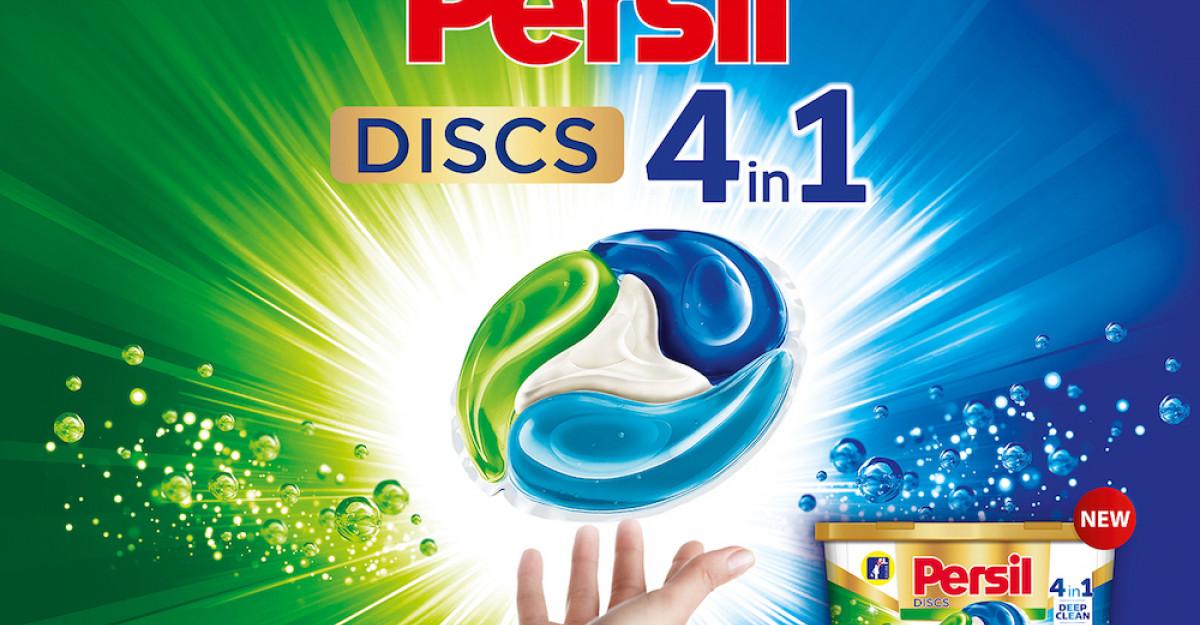 Descoperă inovația Persil DISCS