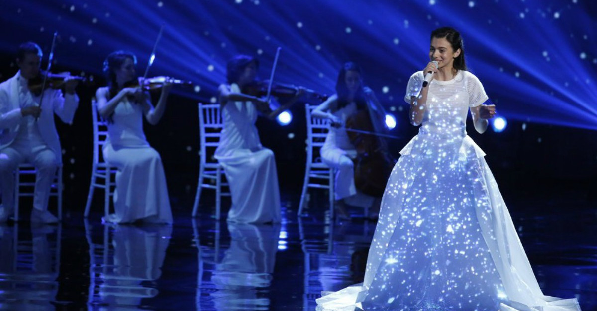 Un moment absolut fermecator cu Laura Bretan pe scena America's Got Talent