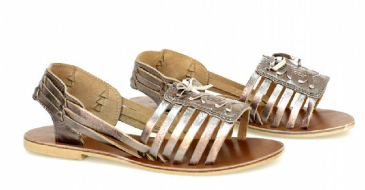 30 de sandale plate