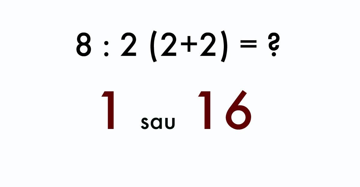 Cea mai simpla ecuatie: Voi stiti care este raspunsul corect?