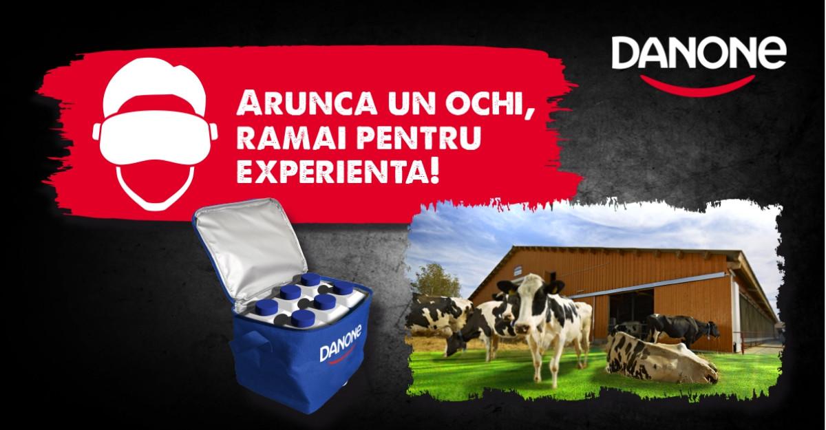 Danone folosește realitatea virtuală pentru a dezvălui consumatorilor drumul iaurtului