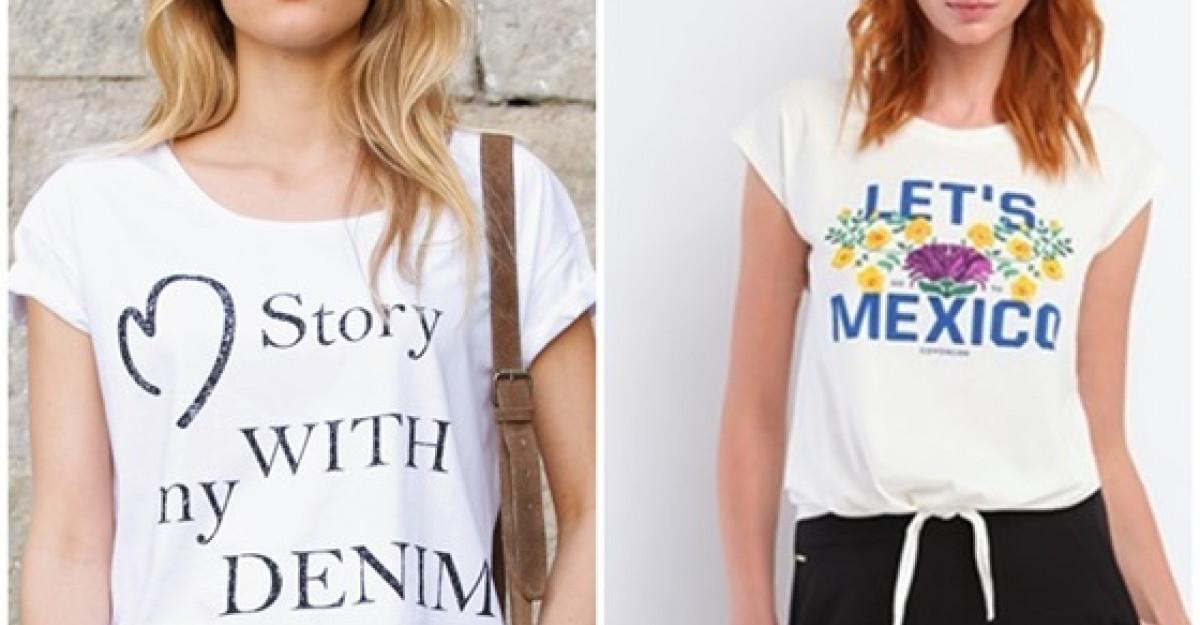 Shopping: 20 de Tricouri cu mesaje