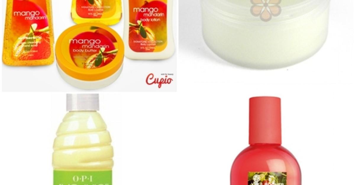 Arome fructate: Produse cosmetice cu fructe
