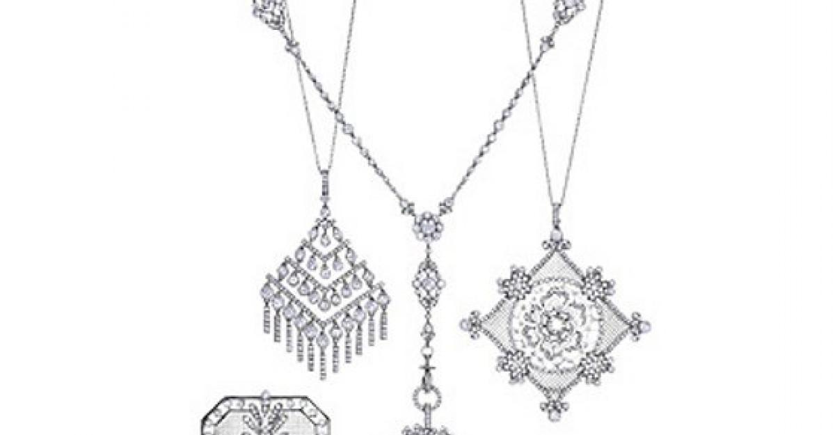 50 Bijuterii de mireasa de la Tiffany's