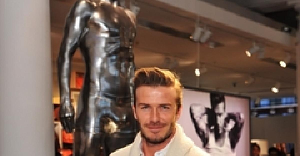 Lansarea colectiei David Beckham Bodywear for H&M Londra