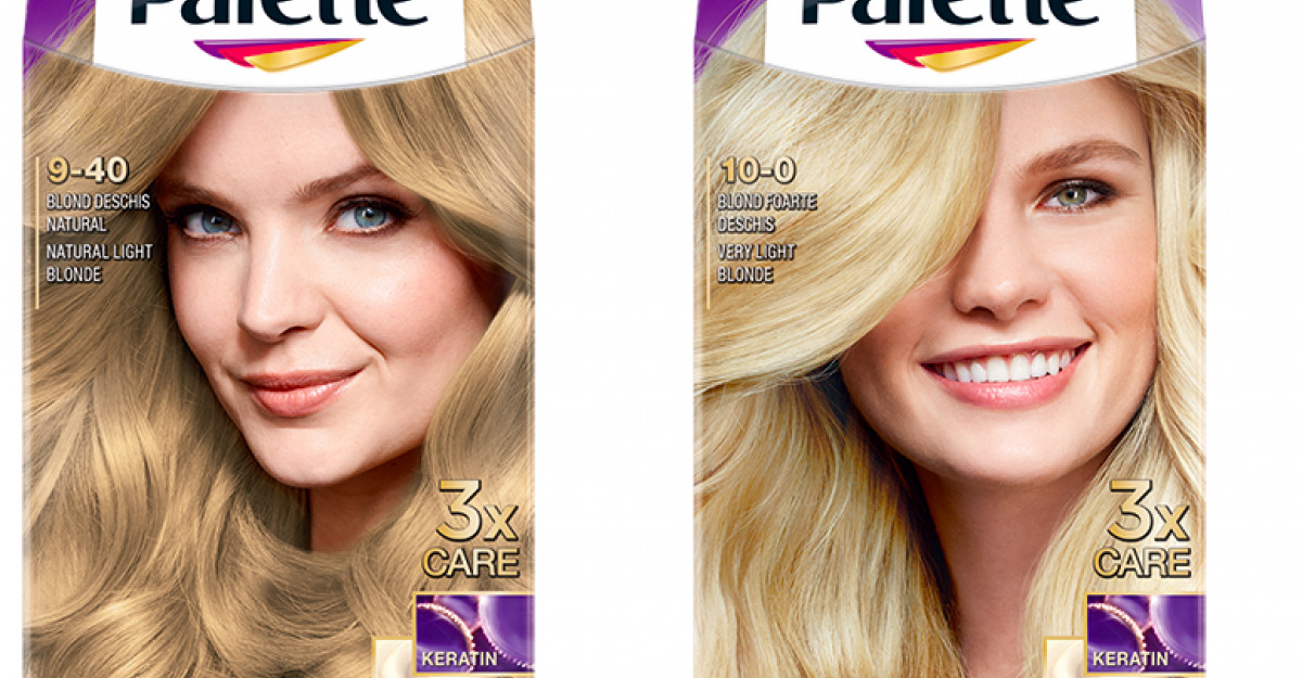 Rețeta blondului suprem cu noile nuanțe de la Palette Intensive Color Creme și șamponul Schauma Silver Reflex