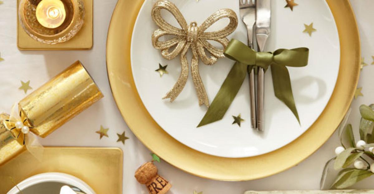 20 de accesorii chic, pentru masa de Revelion