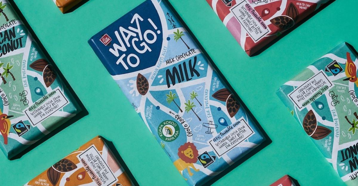 Lidl lansează Way To Go, marca proprie de ciocolată sustenabilă, certificată Fairtrade