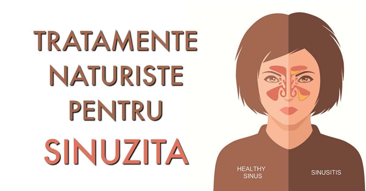 Tratamente Naturiste pentru SINUZITA: cum sa te tratezi acasa