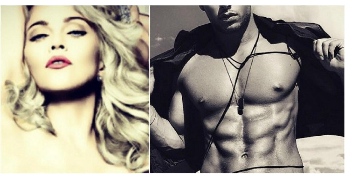 Foto: Noul iubit al Madonnei are 23 de ani si este visul oricarei femei
