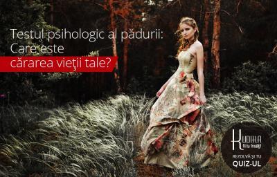 Testul psihologic al padurii: Care este cararea vietii tale?